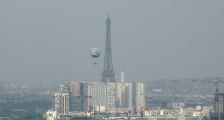 La pollution de l'air � Paris est plus riche en compos�s gazeux aromatiques qu'� Los Angeles
