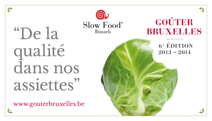 Slow Food Gouter Bruxelles