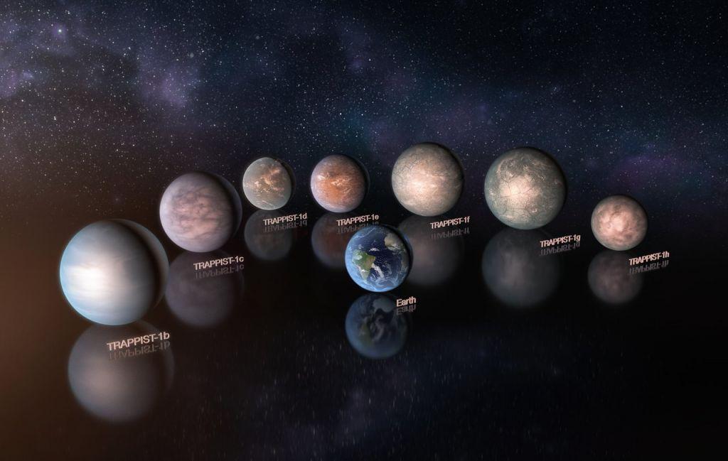 """Résultat de recherche d'images pour """"7 exoplanetes"""""""