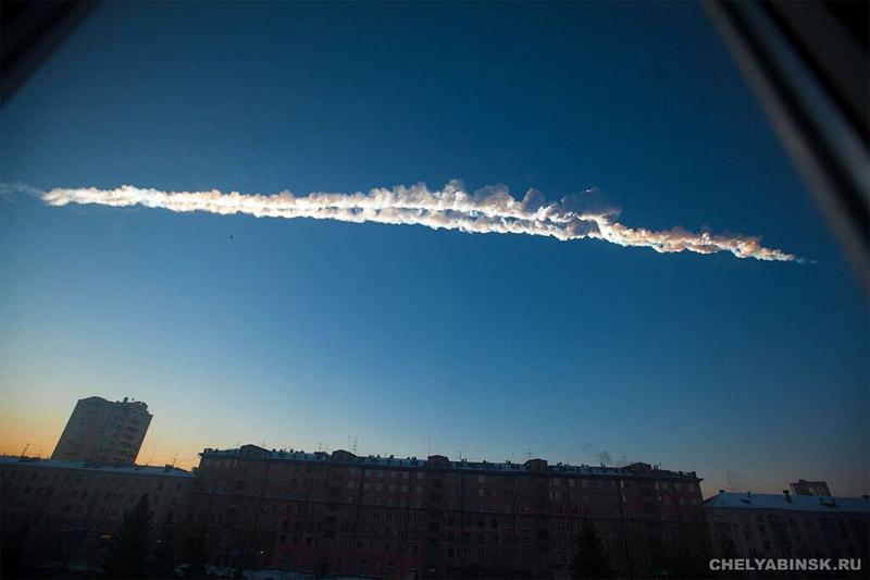 météorite Russie Tcheliabinsk