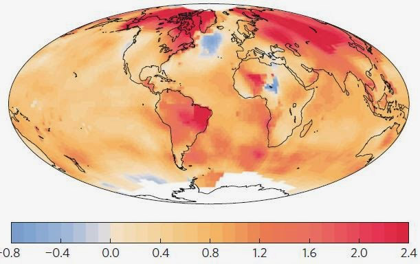 rechauffement Terre 1901 2013