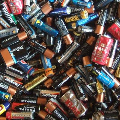 Les Français et les points de collecte des piles et batteries usagées