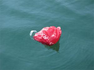 sac plastique en mer