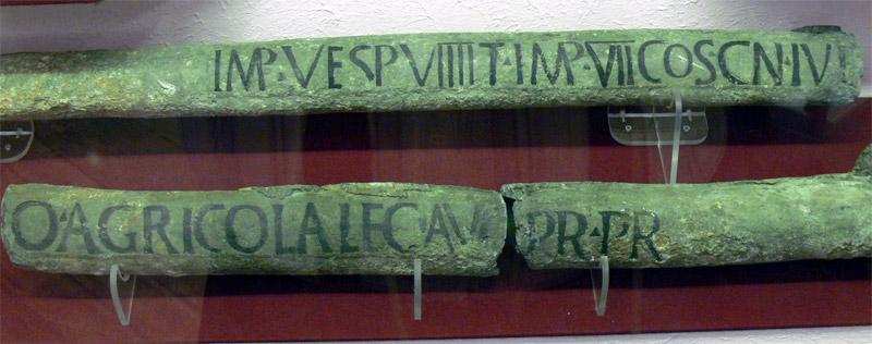 fistule romaine plomb
