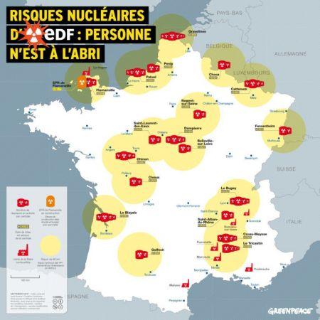 carte des centrales nucléaires en france 2020 Les centrales nucléaires françaises sont vulnérables à une attaque