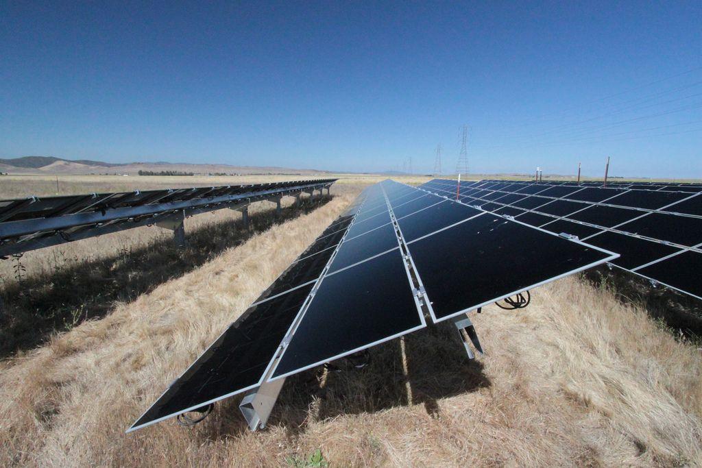 actualites  plus grande centrale solaire Californie