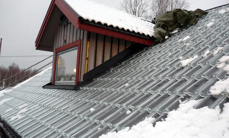 terrasse couverte tuile transparente