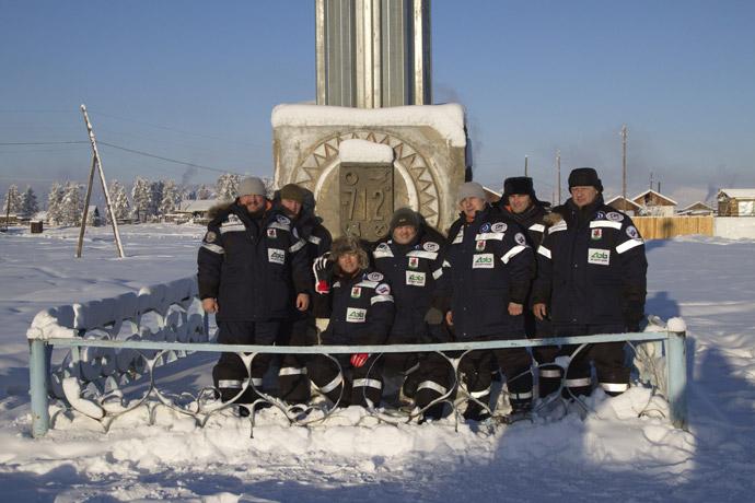 explorateurs plongeurs russes lac Labynkyr