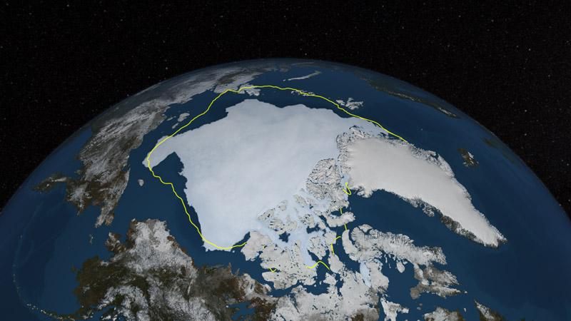 banquise arctique min 2013