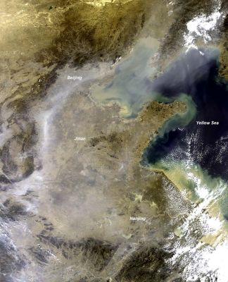 Nouveau rapport de l'ONU sur les nuages bruns de pollution dans le monde