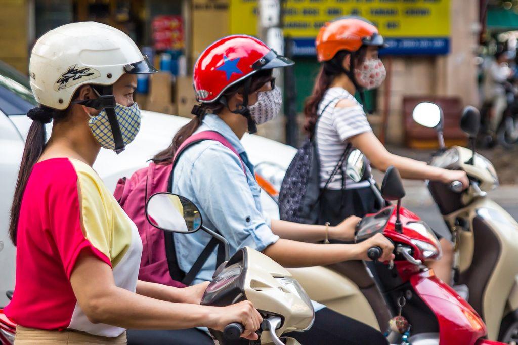 masque de protection anti pollution
