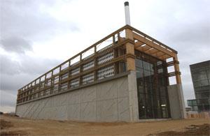 Besançon se dote d'une chaufferie automatique au bois de 6 MW