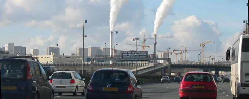 La pollution de l'air ou pollution atmosphérique