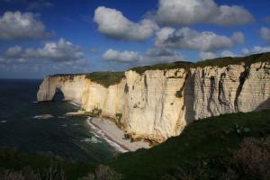 La falaise d'Aval : la Manneporte