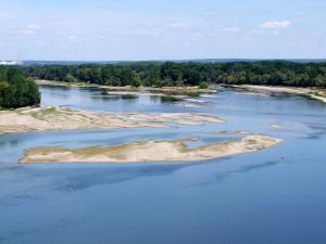 Confluence de la Loire et de la Vienne.