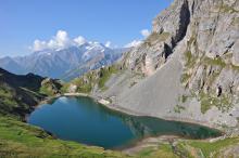 Le Grand Lac - Massif des Ecrins
