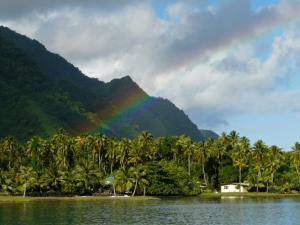 Arc-en-ciel sur la presqu'île